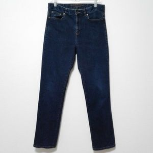 Lauren jeans Co. med wash classic straight jeans